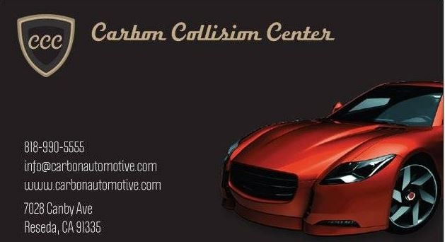Here at Carbon Collision Center, Reseda, CA, 91335, we are always happy to help you with all your collision repair needs!