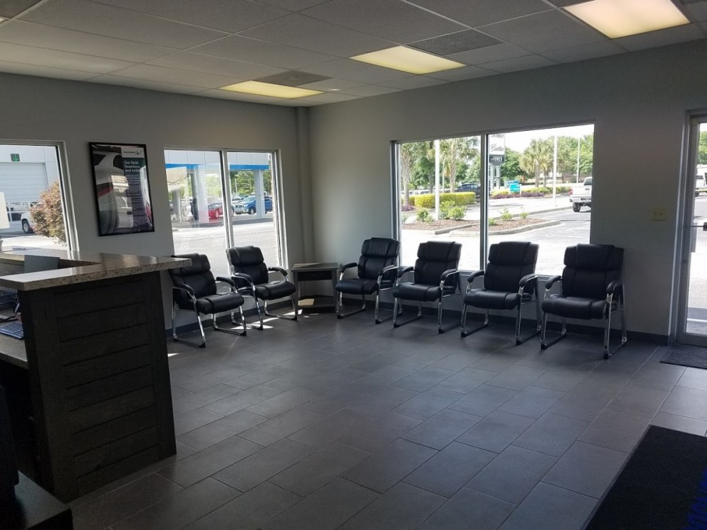 Here at Performance Collision Centers - Sumter, Sumter, SC, 29150, we have a welcoming waiting room.