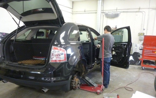 At Auto World Collision Center, in Valencia, CA, 91355-1211, all of our body technicians are skilled at panel replacing.