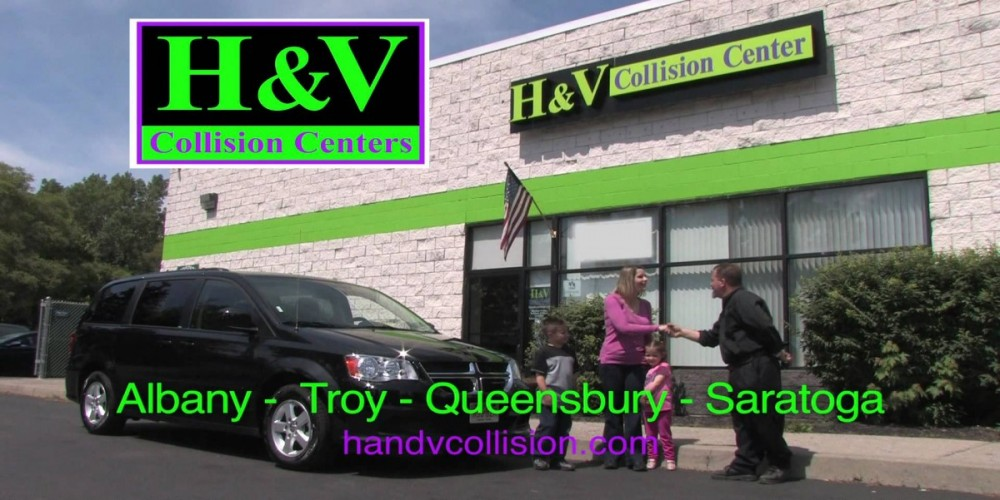 At H & V Collision Center - Queensbury, we are always helping to bring joy & smiles to our community.
