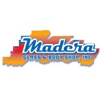 Madera Glass & Body Shop Madera CA 93638 Logo. Madera Glass & Body Shop Auto body and paint. Madera CA collision repair, body shop.