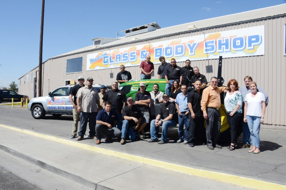 Madera Glass & Body Shop 105 E Central  Madera, CA 93638  This is a team like no other..  Everyone displays Pride and Satisfaction of what they do..
