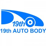 19th Autobody Center Daly City Daly City CA 94014 Logo. 19th Autobody Center Daly City Auto body and paint. Daly City CA collision repair, body shop.