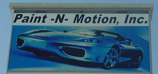 We are proud to show examples of our repairs, here at Paint-N-Motion, Inc..