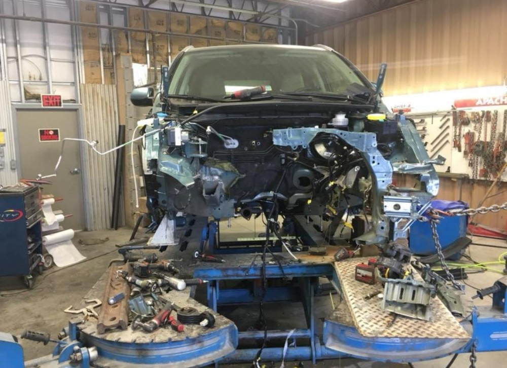Cave Springs Auto Body - Structural repairs done at Cave Spring Auto Body are exact and perfect, resulting in a safe and high quality collision repair.