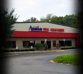 Autobody USA - 7697 Stadium Drive  Kalamazoo, MI 49009 Westside,Kalamazoo, MI.   A State of the Art Collision Repair Facility.  Centrally Located for the Convenience of Our Guests.