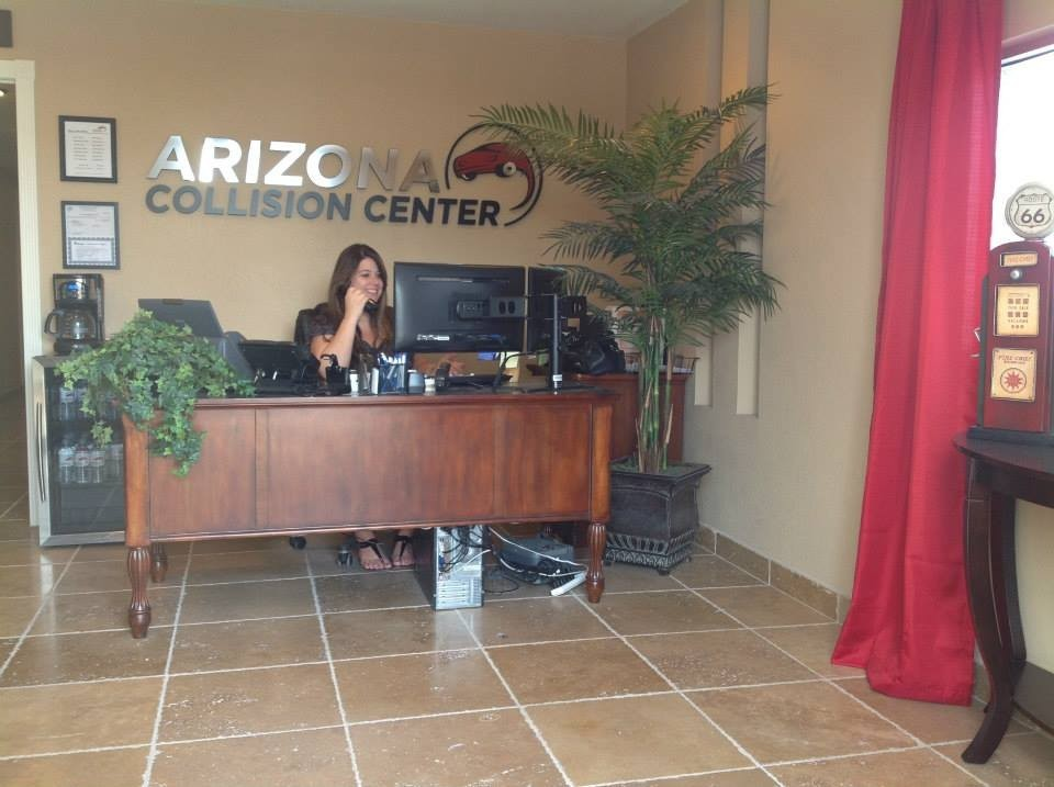 Our body shop's business office located at Tempe, AZ, 85281 is staffed with friendly and experienced personnel.