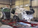 J.R.'s Auto Body 121 Mercedes Court  Winchester, VA 22603  The structural repair process is most important and must be accurate before the repairs can proceed