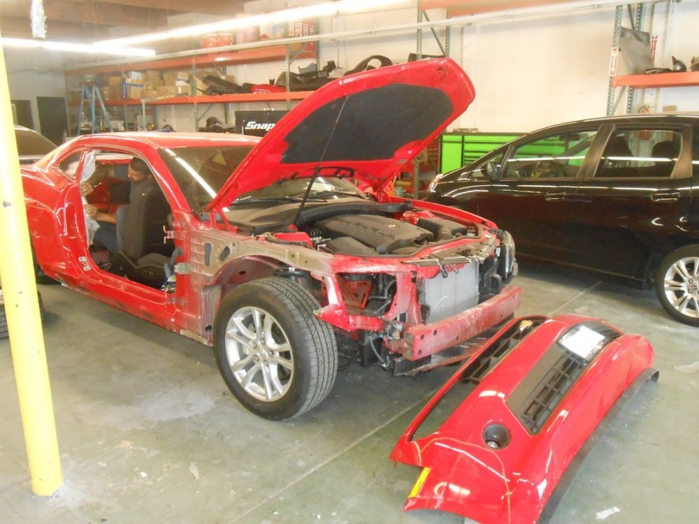 Fix Auto Sacramento 4220 Stockton Blvd  Sacramento, CA 95820 Collision Repair Experts. Auto Body & Painting Professionals.  A complete tear down is required for a complete & quality repair.