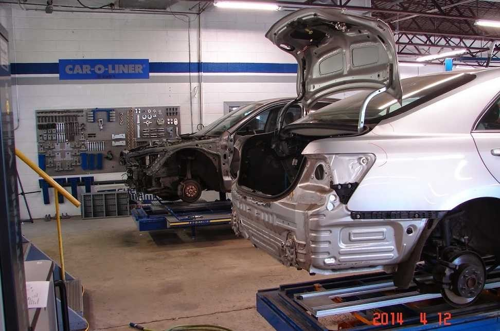 Accurate alignments are the conclusion to a safe and high quality repair done at Center Square Motors Trooper.