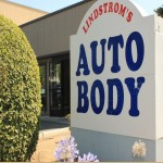 We are Lindstrom's Auto Body! With our specialty trained technicians, we will bring your car back to its pre-accident condition!