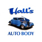 Hall's Auto Body Llc Palmer AK 99645 Logo. Hall's Auto Body Llc Auto body and paint. Palmer AK collision repair, body shop.