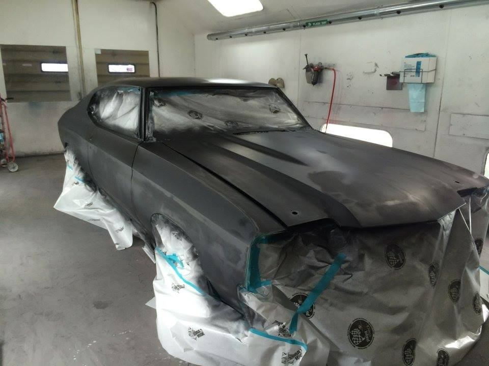 Hall's Auto Body Llc 7660 E Palmer Wasilla Hwy  Palmer, AK 99645 Collision Repairs.  Auto Body and Paint professionals.    Refinishing preparation is vitally important for a good finish to follow.