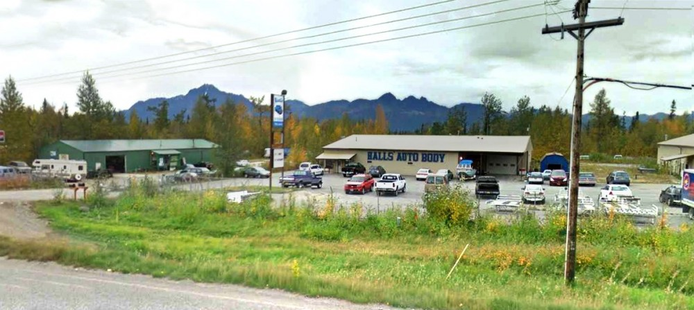 Hall's Auto Body Llc 7660 E Palmer Wasilla Hwy  Palmer, AK 99645 Collision Repairs.  Auto Body and Paint professionals. Centrally located for Our Guest's Convenience.  Easy Access with Ample Parking.