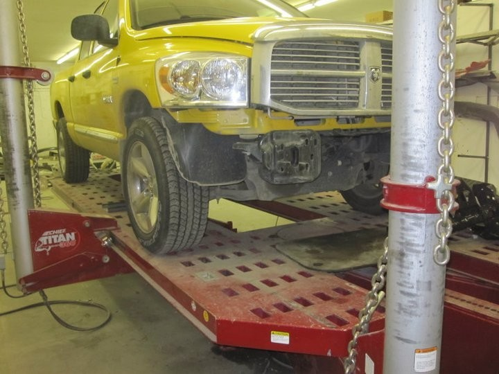 Hall's Auto Body Llc 7660 E Palmer Wasilla Hwy  Palmer, AK 99645 Collision Repairs.  Auto Body and Paint professionals. Structural repairs must be accurate before the repairs can continue.