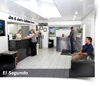 Jim & Jack's Collision Center - El Segundo, Ca Highly Trained and Knowledgeable Office Staff..  State of the Art Collision Facility