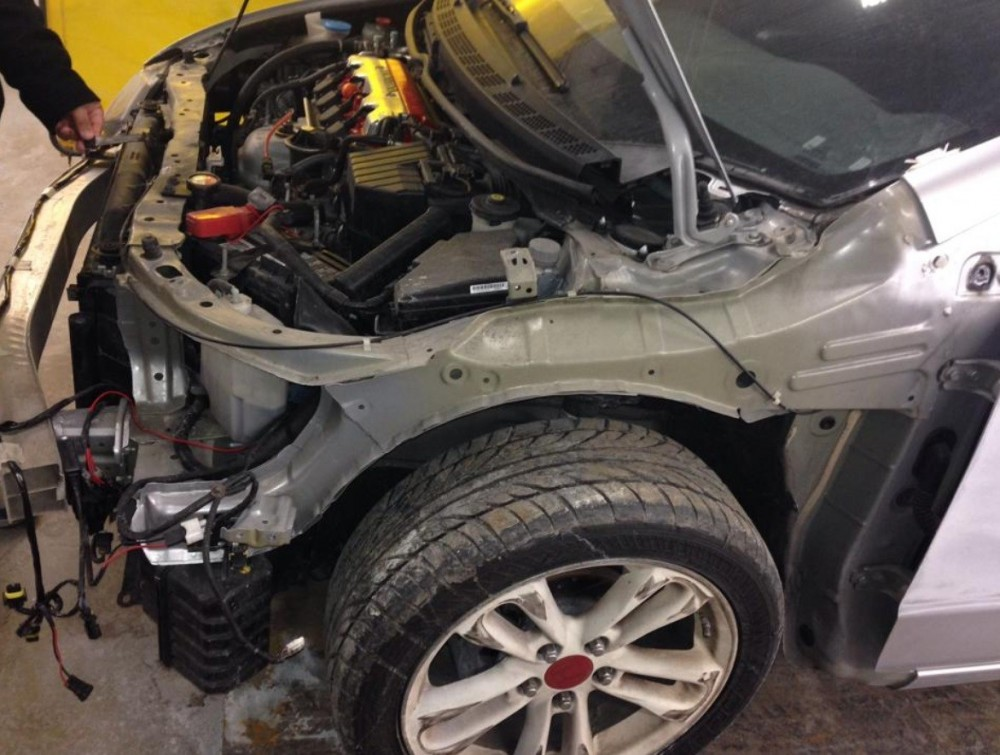 Structural repairs done at Nationwide Auto Body Network are exact and perfect, resulting in a safe and high quality collision repair.