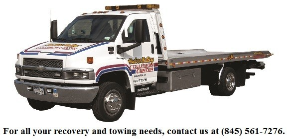 At Hudson Valley Collision Center, Newburgh, NY, 12550, tow services are always available for our guests.