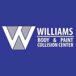 Williams Auto Body & Paint Collision Center Colorado Springs CO 80915 Logo. Williams Auto Body & Paint Collision Center Auto body and paint. Colorado Springs CO collision repair, body shop.