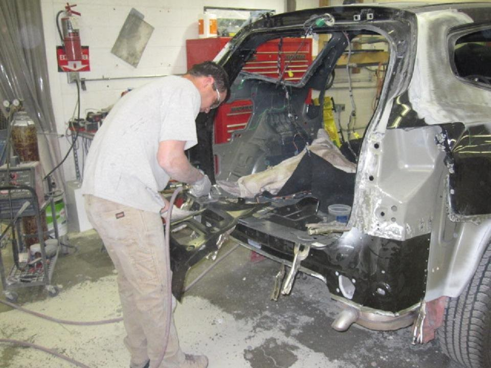 J & J Auto Body 2610 Garrett Way Pocatello, ID 83201 Collision Repair Experts. Auto Body & Painting Specialists.  State of the Art Equipment along with Skilled Technicians concentrating on the task, delivers a High Quality Collision Repair.