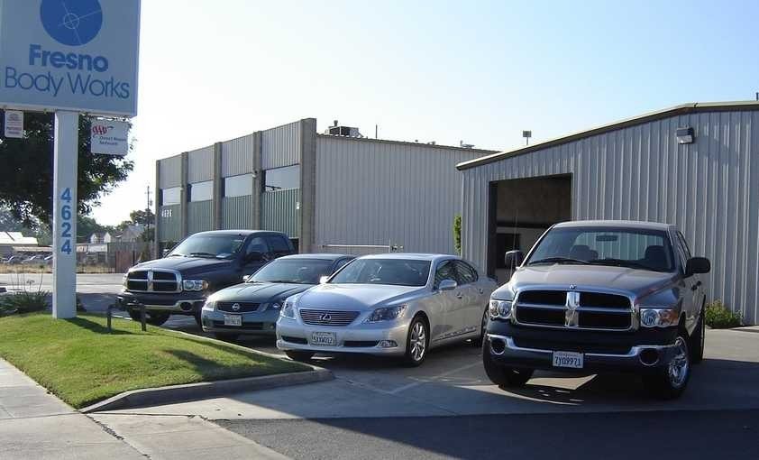 Fresno Body Works South 4624 E Olive Ave  Fresno, CA 93701