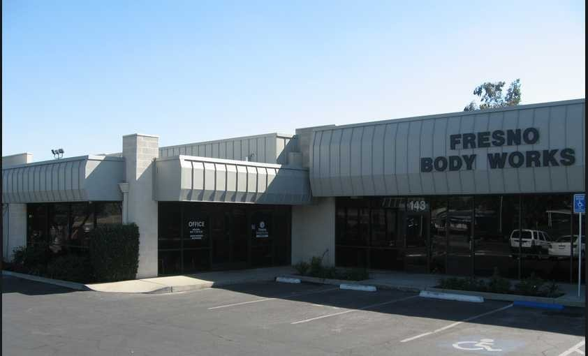 Fresno Body Works North 143 E. Sierra  Fresno, CA 93710  Our Central Location is Convenient for Our Guests ..