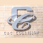 C & C Collision Alhambra CA 91803 Logo. C & C Collision Auto body and paint. Alhambra CA collision repair, body shop.