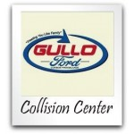 Gullo Ford Collision Center Conroe TX 77301 Logo. Gullo Ford Collision Center Auto body and paint. Conroe TX collision repair, body shop.