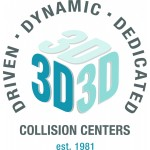 We are 3D Collision Centers! With our specialty trained technicians, we will bring your car back to its pre-accident condition!