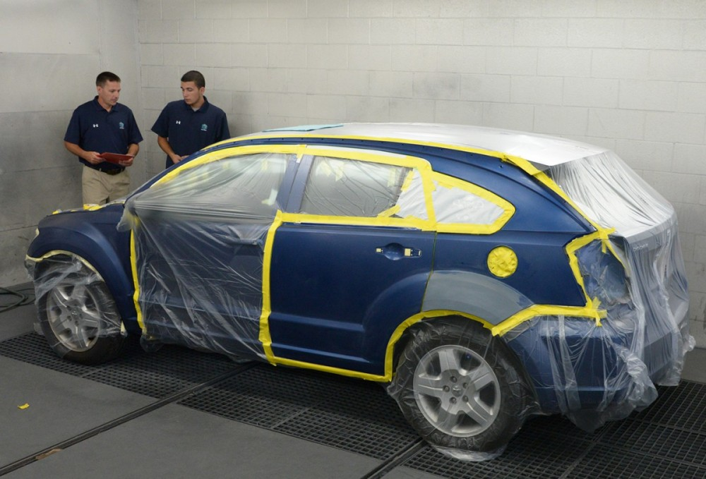 3D Bodyworks - West Chester 300 W Boot Rd  West Chester, PA 19380-1110  Every square inch of the collision repair is checked and re-checked throughout the repair.