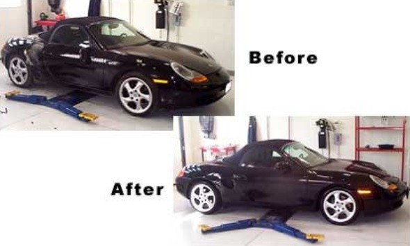 At Lewis Collision Center, we are proud to post before and after collision repair photos for our guests to view.