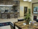 The waiting area at our body shop, located at Mcalester, OK, 74501 is a comfortable and inviting place for our guests.