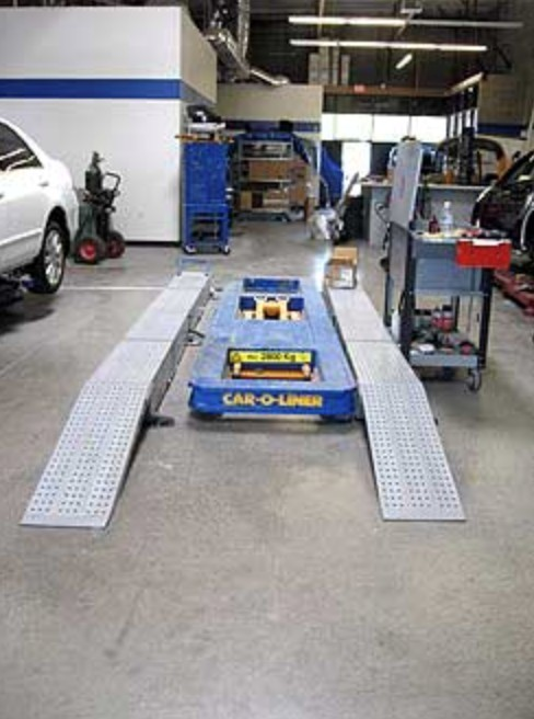 Structural repairs done at Blue Collision are exact and perfect, resulting in a safe and high quality collision repair.