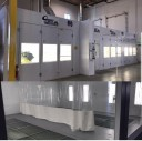 Platinum Collision Centers Eastvale - A neat and clean and professional refinishing department is located at Platinum Collision Centers Eastvale, Eastvale, CA, 92880