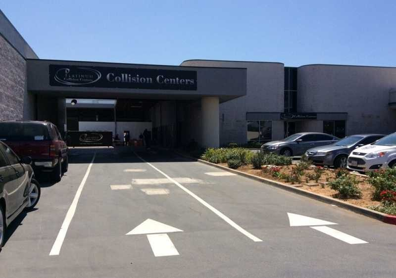 Platinum Collision Centers 2550 Wardlow Road  Corona, CA 92882 Our convenient location has easy access and ample parking for our customers.