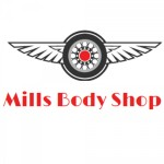 Mills Body Shop Norman OK 73072-5708 Logo. Mills Body Shop Auto body and paint. Norman OK collision repair, body shop.