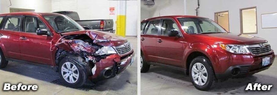 At Lithia Downtown Body And Paint, we are proud to post before and after collision repair photos for our guests to view.