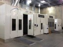 A neat and clean and professional refinishing department is located at Earth Collision Center, Carrollton, TX, 75006
