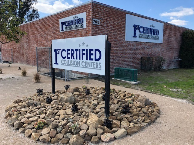 1stCertified Collision Center - Redlands - We are centrally located at Redlands, CA, 92374 for our guest's convenience and are ready to assist you with your collision repair needs.