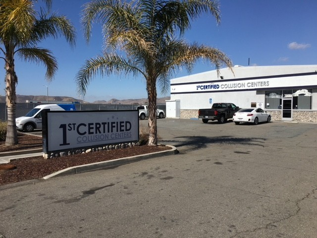 1stCertified Collision Center - Hemet - We are centrally located at Hemet, CA, 92545 for our guest's convenience and are ready to assist you with your collision repair needs.