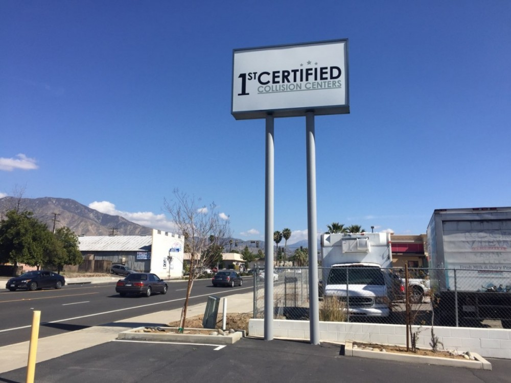 At 1stCertified Collision Center - Highland, you will easily find us located at Highland, CA, 92346. Rain or shine, we are here to serve YOU!