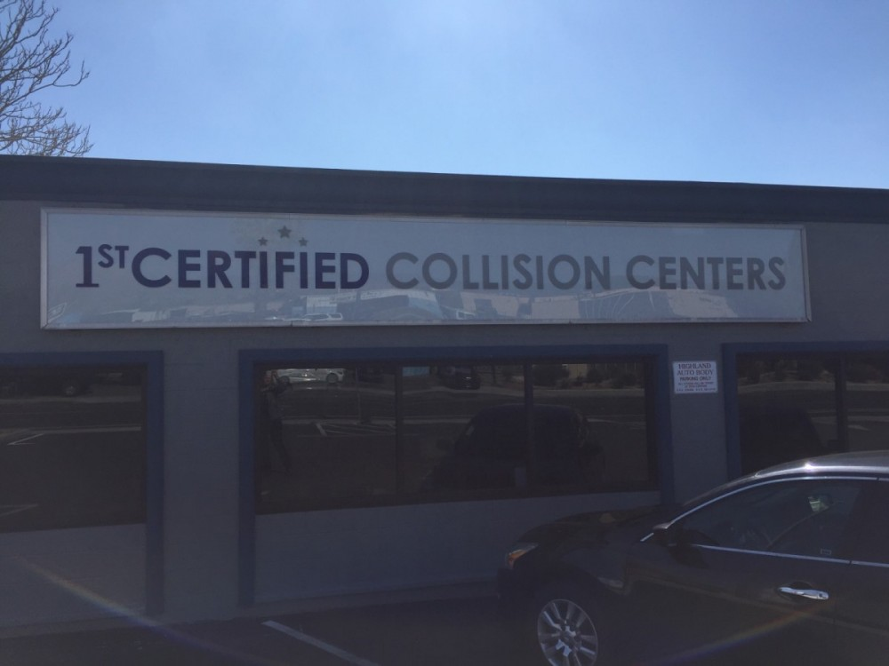 1stCertified Collision Center - We are a high volume, high quality, Collision Repair Facility located at Highland, CA, 92346. We are a professional Collision Repair Facility, repairing all makes and models.