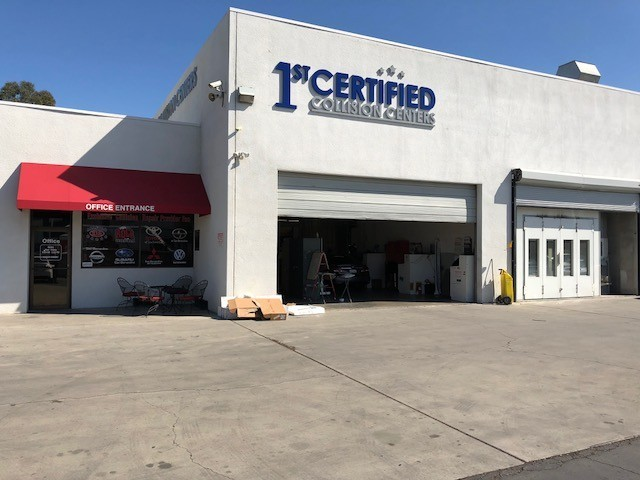 1stCertified Collision Center - San Bernardino - Our body shop's business office located at San Bernardino, CA, 92408 is staffed with friendly and experienced personnel.