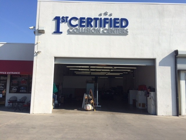 1stCertified Collision Center - San Bernardino - We are centrally located at San Bernardino, CA, 92408 for our guest's convenience and are ready to assist you with your collision repair needs.