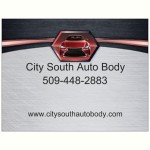 City South Auto Body Spokane WA 99223 Logo. City South Auto Body Auto body and paint. Spokane WA collision repair, body shop.