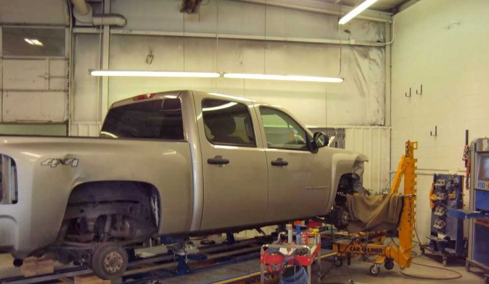 Accurate alignments are the conclusion to a safe and high quality repair done at American Way Auto Body, Spokane Valley, WA, 99212