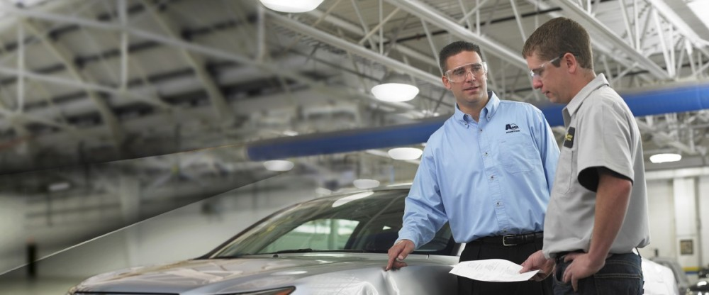 During the course of a collision repair many re-inspections are done, but the final quality control inspection is done by a trained specialist.  At ABRA Auto Body & Glass - Crestwood, in Crestwood, IL, 60445, we take pride in perfecting this process of the collision repair.
