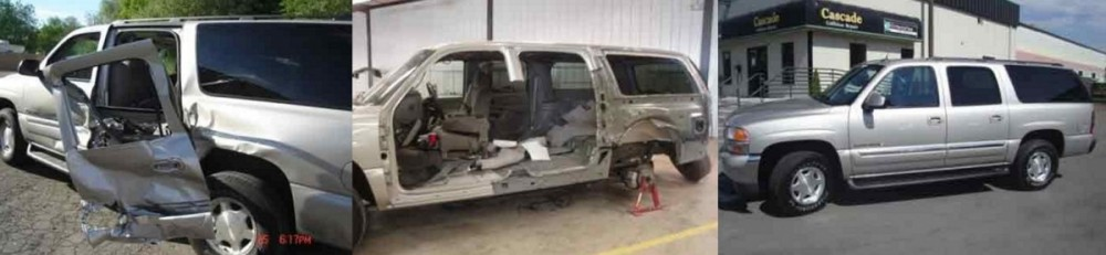 Cascade Collision Repair - Provo 1155 South State Street  Provo, UT 84606 Collision Repair Experts.  We proudly post before & after collision repaired photos for our guests to view.