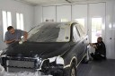 Gustafson Brothers 19161 Gothard St.  Huntington Beach, CA 92648-2225  Auto Body & Painting Professionals. Collision Repair Experts.  The final preparation checks are made before the refinishing is done.