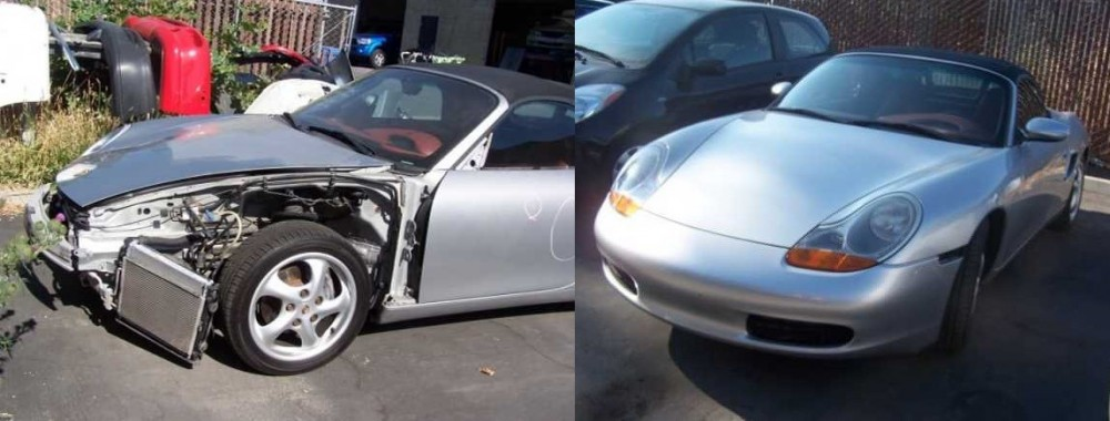 At Vintage Auto Body, we are proud to post before and after collision repair photos for our guests to view.